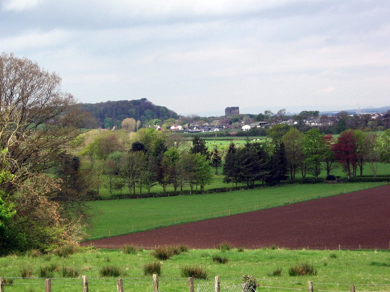 View of Dundonald from Dankeith Cemetery